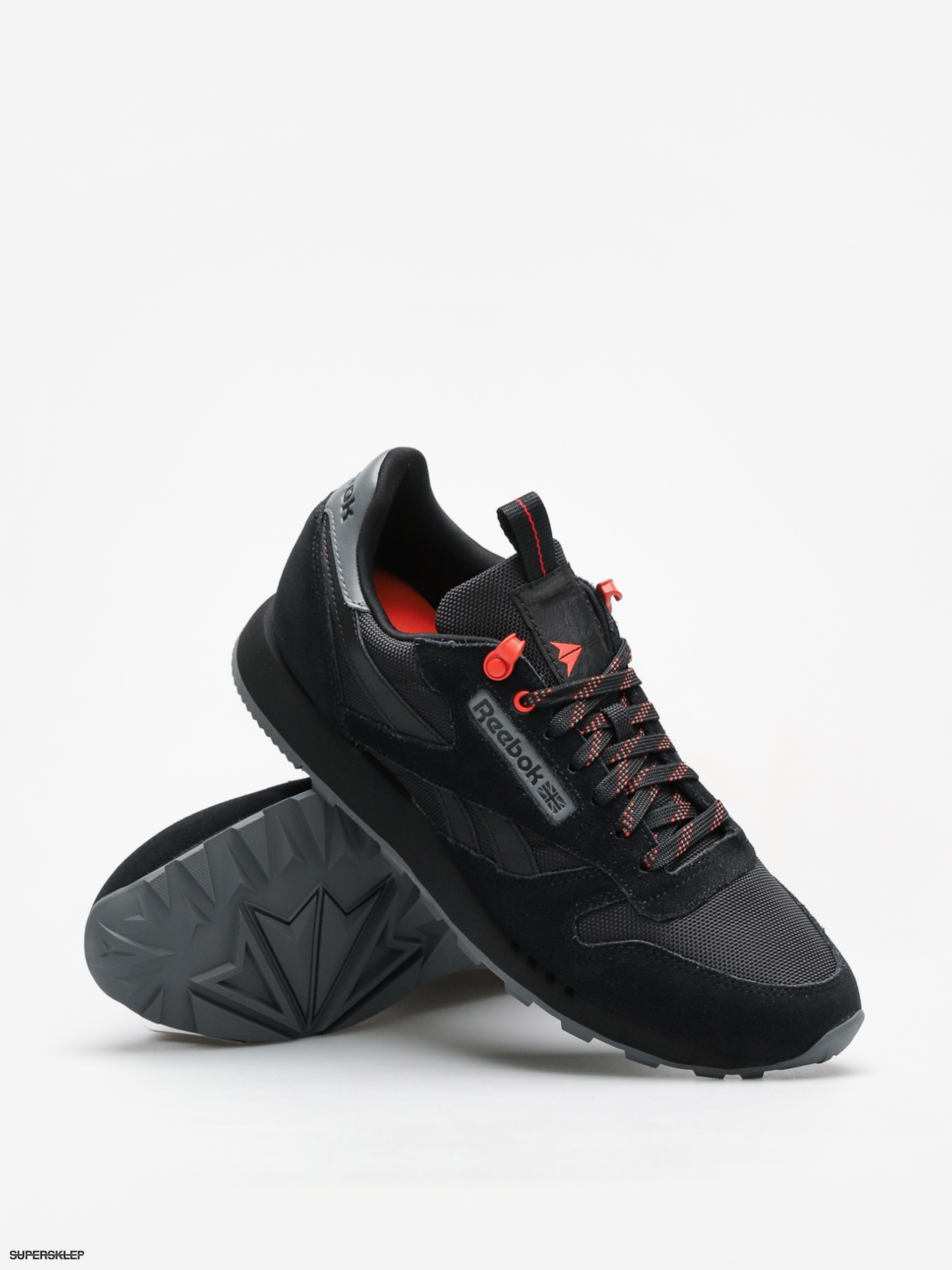 4b01ef022a668 Buty Reebok Cl Leather Explore (black alloy carotene)