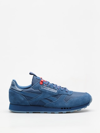 Buty Reebok Cl Leather Explore (bunker blue/blue slate/primal red)