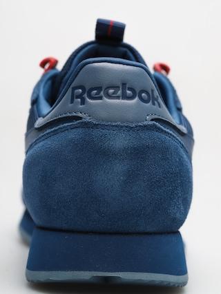 Buty Reebok Cl Leather Explore (bunker blue/blue slate/primal red)