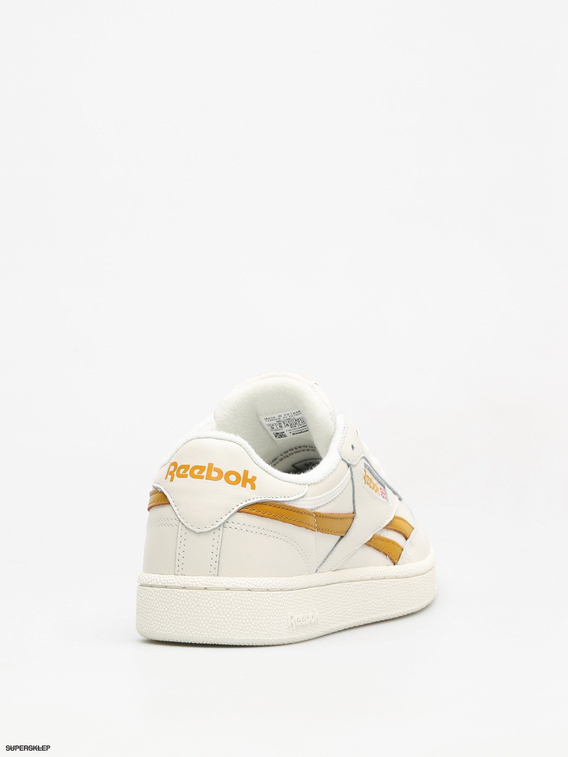 Buy online Reebok Classic Leather MU in Chalk Wild Khaki