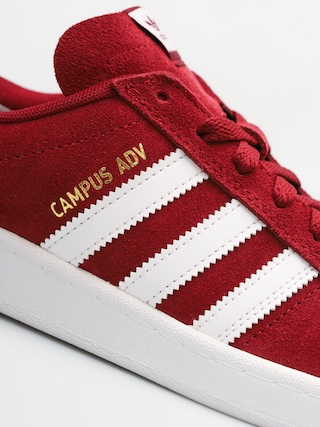Buty adidas Campus Adv (collegiate burgundy/ftwr white/ftwr white)