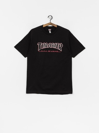 T-shirt Independent x Thrasher Ttg (black)