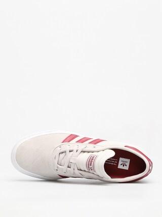 Buty adidas Adi Ease Premiere (crystal white/collegiate burgundy/ftwr white)