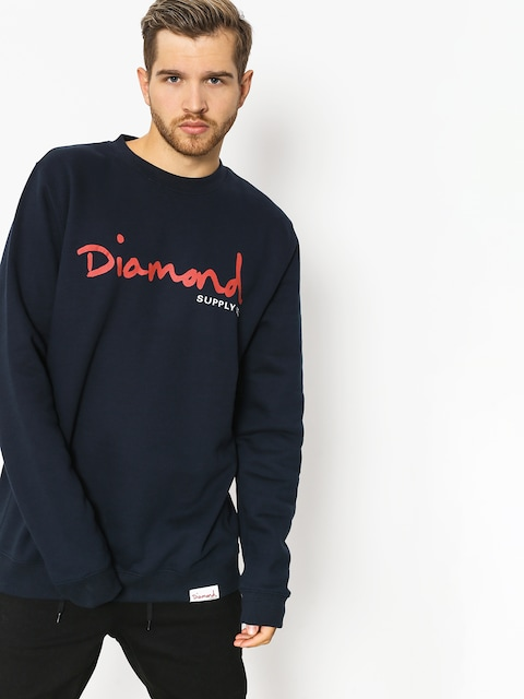 Bluza Diamond Supply Co. Og Script (navy)