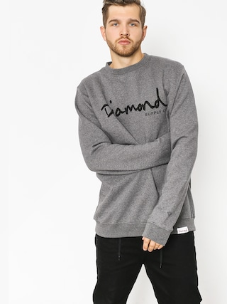 Bluza Diamond Supply Co. Og Script (gunmetal heather)