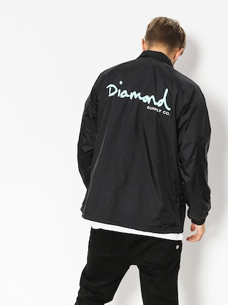 Kurtka Diamond Supply Co. Og Script Coach (black)