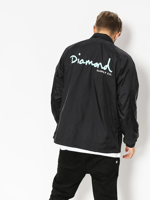 Kurtka Diamond Supply Co. Og Script Coach