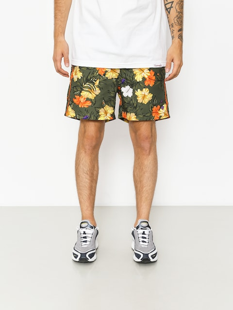 Boardshorty Diamond Supply Co. Aloha Floral (olive)