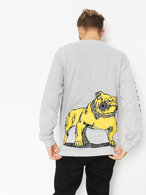 Longsleeve Diamond Supply Co. Bulldogs (heather grey)