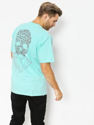 T-shirt Diamond Supply Co. Fasten (diamond blue)