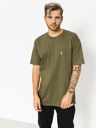 T-shirt Diamond Supply Co. Fasten (military green)