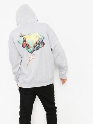 Bluza z kapturem Diamond Supply Co. Trinity HD (heather grey)