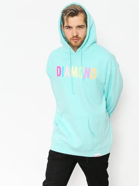 Bluza z kapturem Diamond Supply Co. Colour Pop HD (diamond blue)