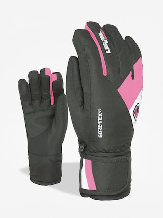 Rękawice Level Force Jr Gore Tex (fucsia)