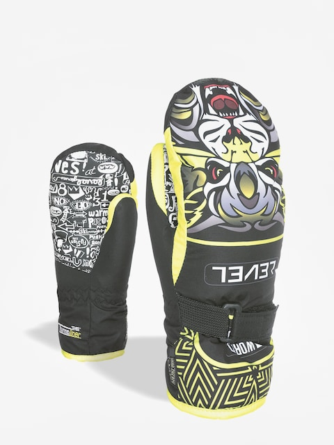 Rękawice Level Junior Mitt (yellow)