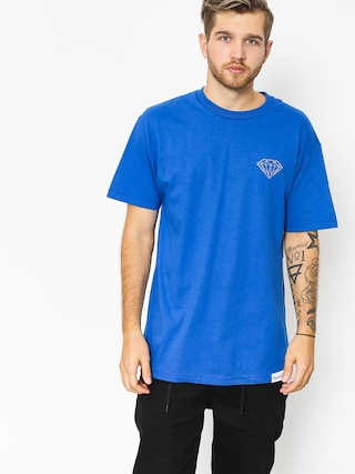 T-shirt Diamond Supply Co. Clockwork (royal blue)