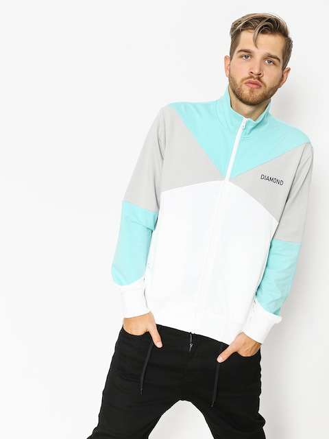 Bluza Diamond Supply Co. Cherry Park Warm Up (white)