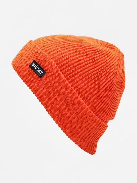 Czapka zimowa Stussy Small Patch Watchcap (orange)