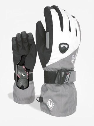 Rękawice Level Butterfly Wmn (silver)