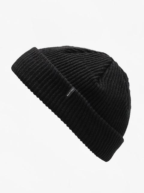Czapka zimowa The Hive Fisherman Mini Logo Beanie (black)