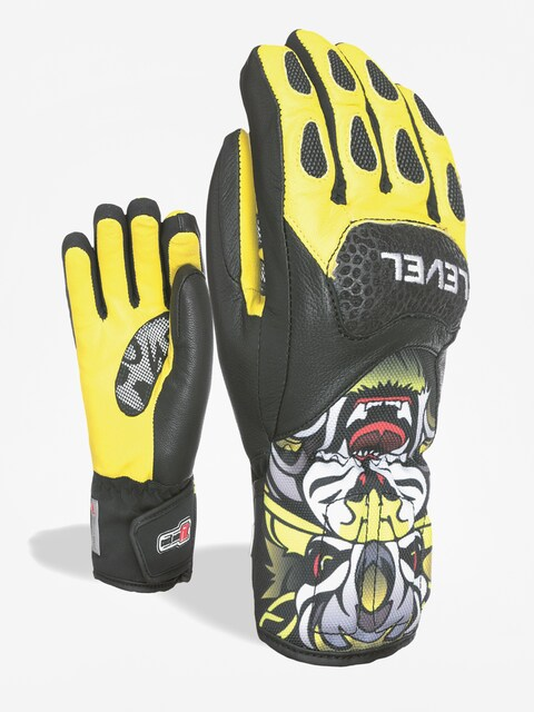 Rękawice Level Sq Jr Cf (yellow)
