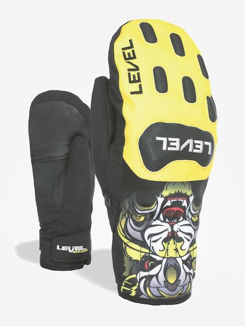 Rękawice Level Race Jr Mitt (yellow)