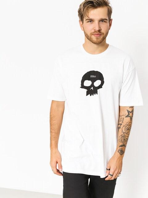 T-shirt Zero Single Skull (white)