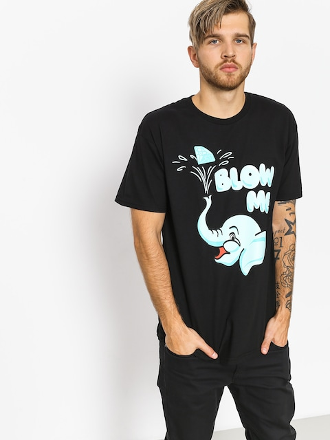 T-shirt Diamond Supply Co. Blow Me (black)
