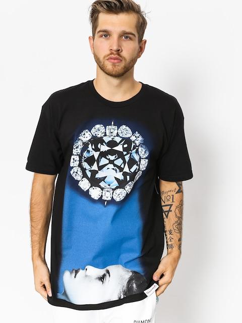 T-shirt Diamond Supply Co. Face Down (black)