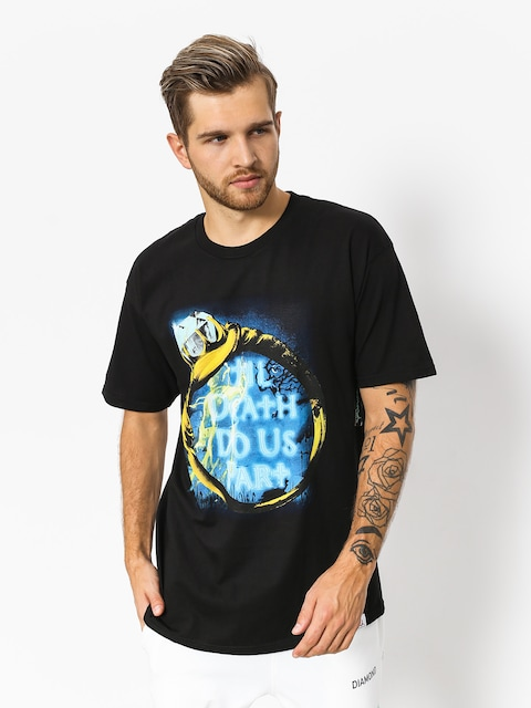 T-shirt Diamond Supply Co. Till Death (black)