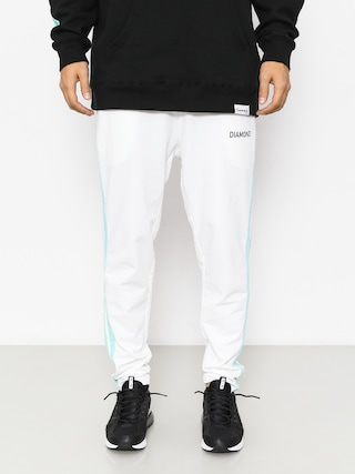 Spodnie Diamond Supply Co. Cherry Park Warm Up Drs (white)