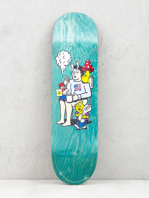 Deck Polar Skate Aaron Herrington Just Like Drugs (green)