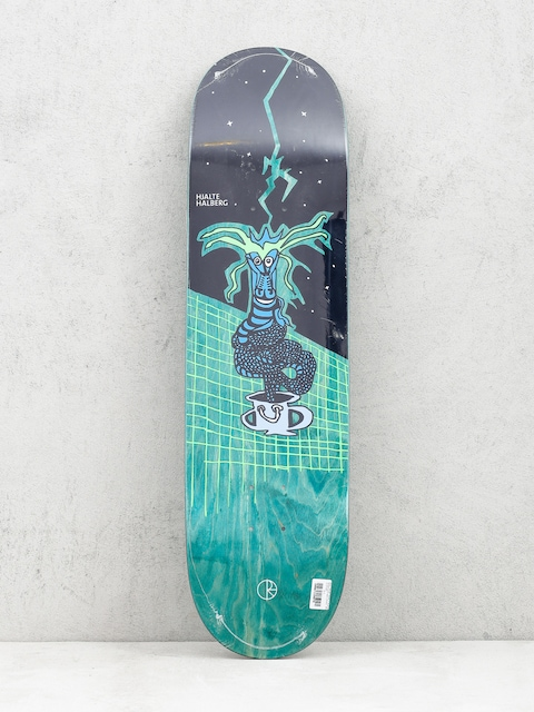 Deck Polar Skate Hjalte Halberg Dragon Snake (black/green)