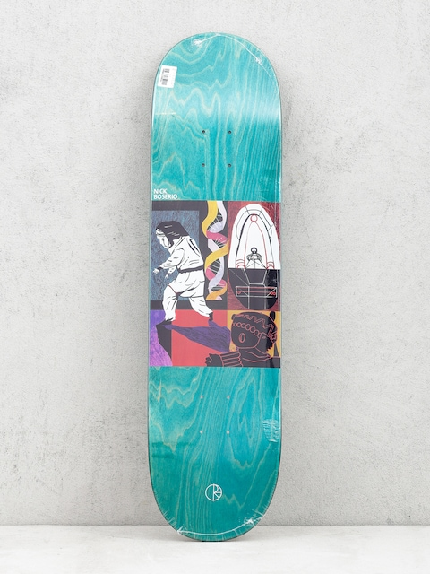 Deck Polar Skate Nick Boserio Alien Encounter (green)