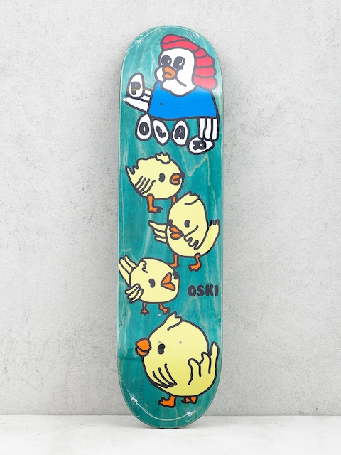Deck Polar Skate Oskar Rozenberg Chicken Mama (green)
