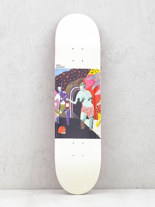 Deck Polar Skate Nick Boserio What We Do Is Secret (white)