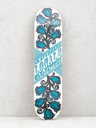 Deck Locals Skateboards Tulipan (blue)