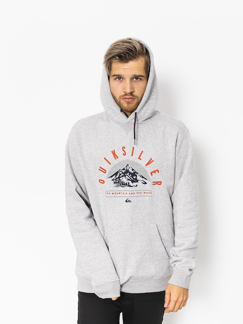 Bluza aktywna Quiksilver Big Logo Snow (grey heather)