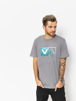 T-shirt RVCA Reflection Box (athletic heather)