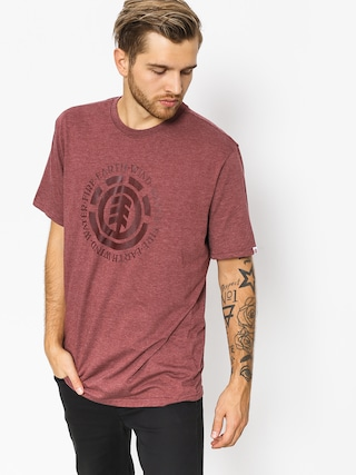 T-shirt Element Seal (oxblood heather)