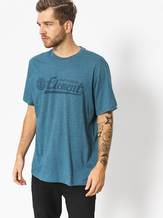 T-shirt Element Signature (blue steel htr)