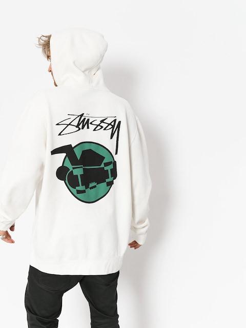 Bluza z kapturem Stussy Skateman Pig Dyed HD (natural)