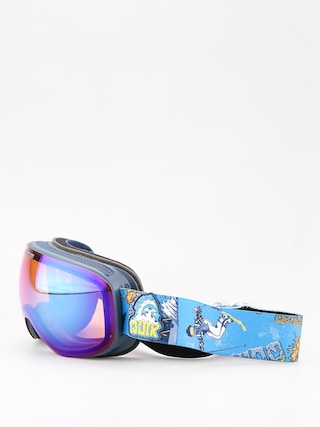 Gogle Quiksilver Qs R (a day at mtn glo blu)