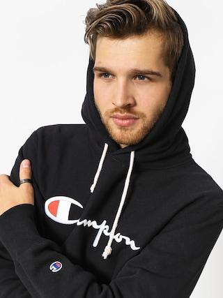 Bluza z kapturem Champion Reverse Weave Hooded Sweatshirt HD (nbk)
