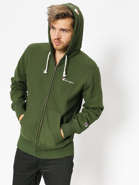 Bluza z kapturem Champion Reverse Weave Hooded Full Zip Sweatshirt ZHD (baf)