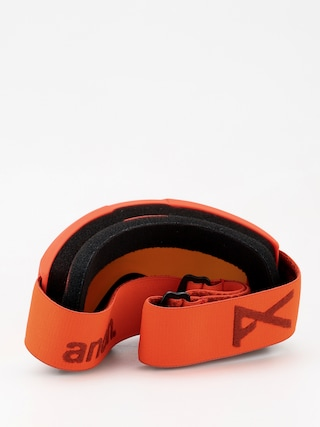 Gogle Anon Helix 2 Sonar W Spare (red/sonar red)