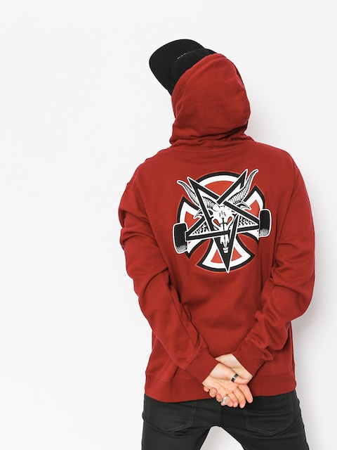 Bluza z kapturem Independent x Thrasher Pentagram Cross HD