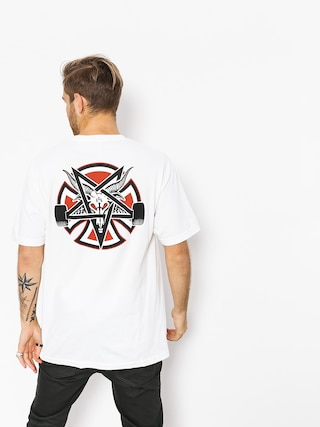 T-shirt Independent x Thrasher Pentagram Cross (white)