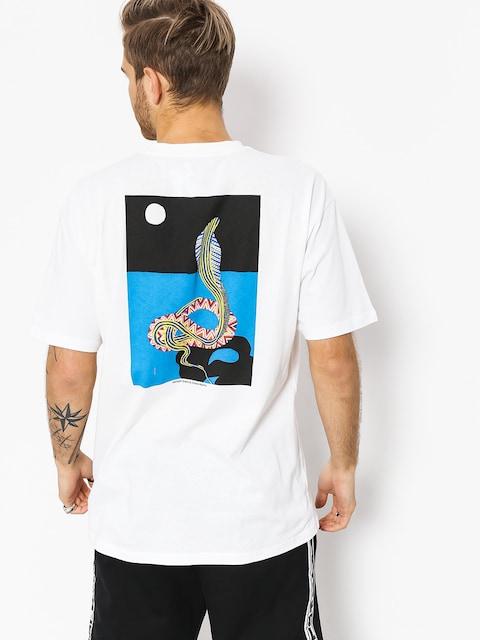 T-shirt Polar Skate Midnight Snake (white)