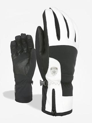 Rękawice Level Iris Wmn (black white)